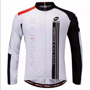 🚴♀️ Sponeed Full-Zip Long Sleeve Cycling Jersey